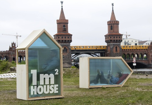 Arquiteto cria a casa de um m2 / Alemanha, © Daniela Kleint