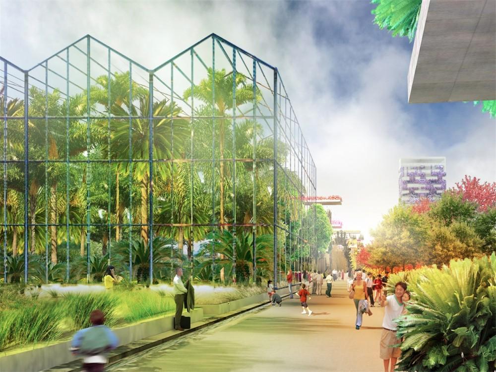 Proposta para a Exposição Floriade 2022 em Almere - Holanda / MVRDV, © MVRDV