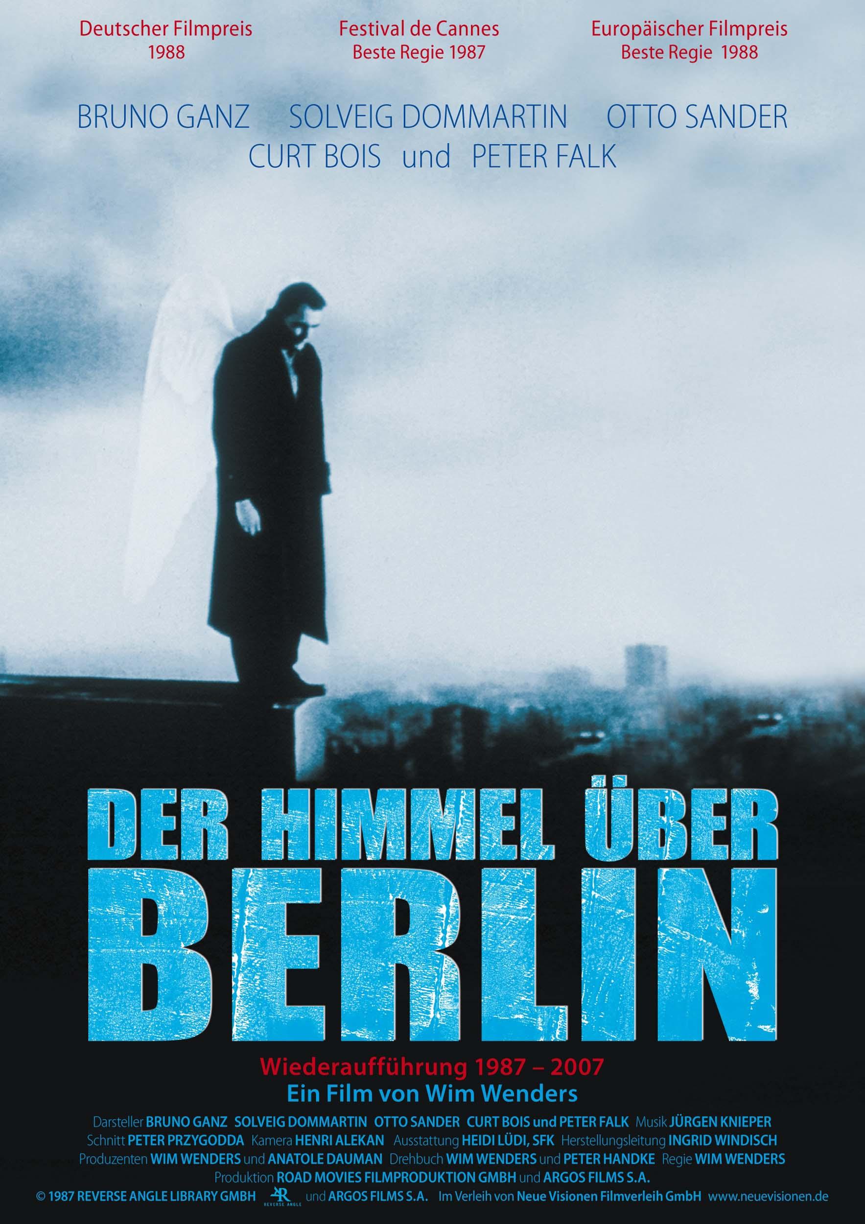 Cinema e Arquitetura: O céu sobre Berlim, Cartaz original