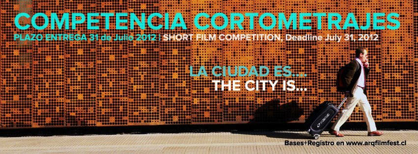 Concurso de Curtas ARQFILMFEST, Cartaz