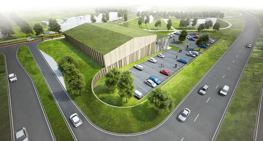 1° Lugar: Novo Centro Comunitário / MoederscheimMoonen Architects, Cortesia de MoederscheimMoonen Architects