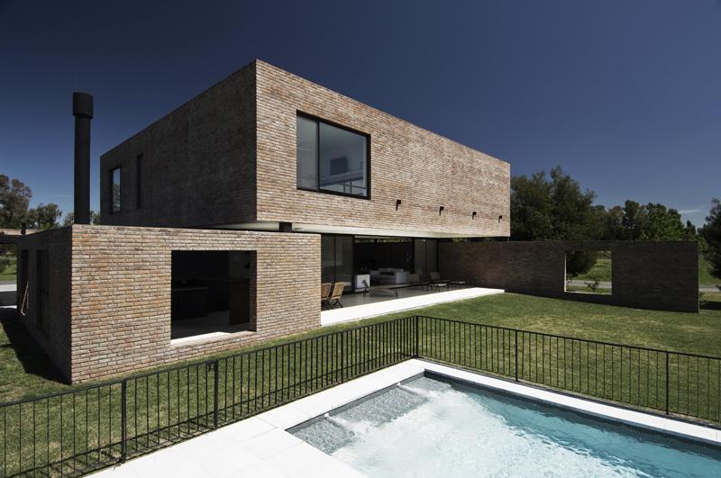 Galeria de casa myp estudio babo 5 for Casa minimalista argentina