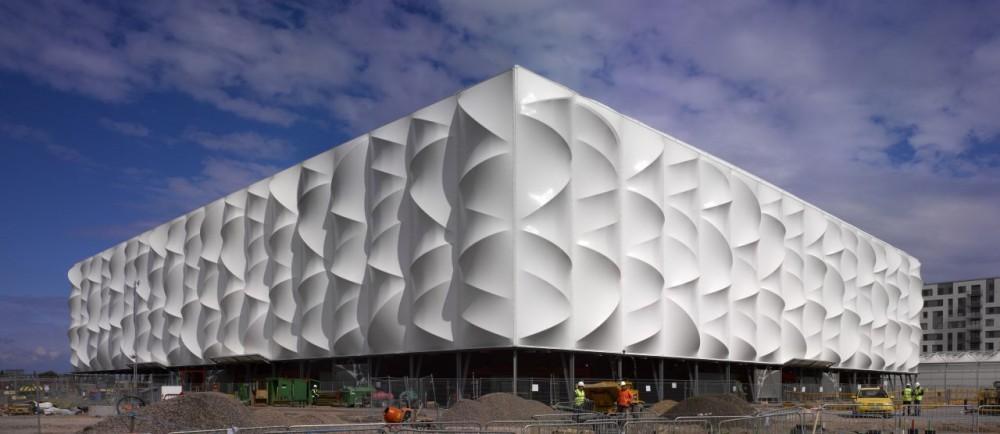 Time lapse Londres 2012: Basketball Arena, © Edmund Sumner