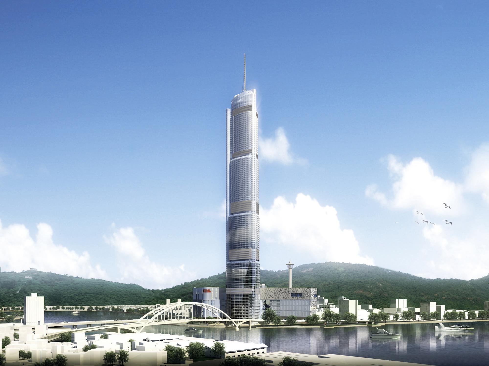 Torre da Cidade Busan Lotte / SOM, © SOM