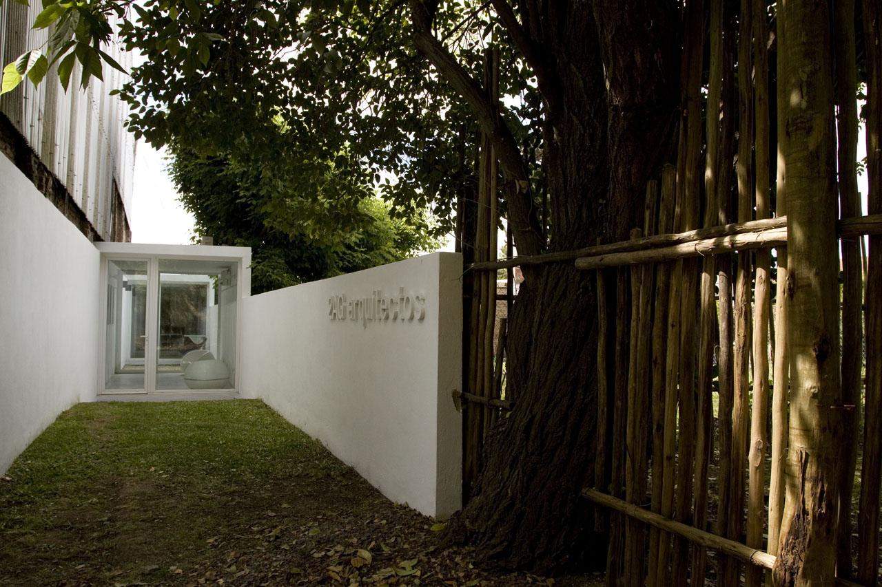 Estudio de Pátios / Estudio 2AG arquitectos, © Tini Carballido