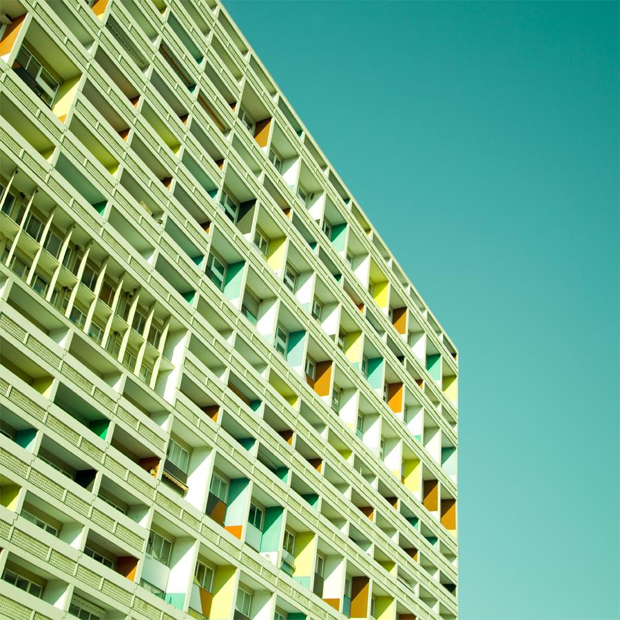 Arte e Arquitetura: Matthias Heiderich, fotógrafo., Le Corbusier, Berlim. Matthias Heiderich, 2012.