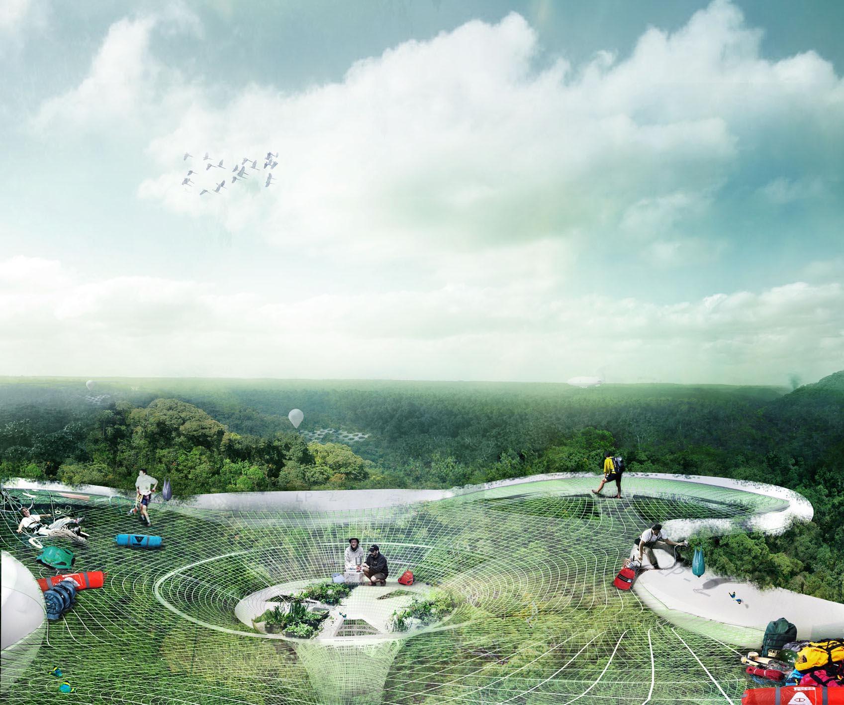 Vencedora do Foster + Partners Prize 2012: Yi Yvonne Weng , © Yi Yvonne Weng