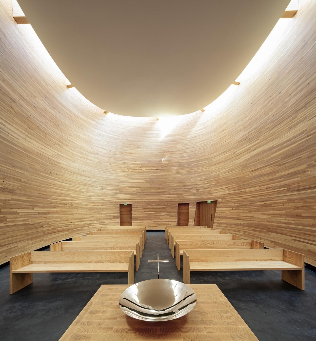 Capela Kamppi / K2S Architects, © Tuomas Uusheimo