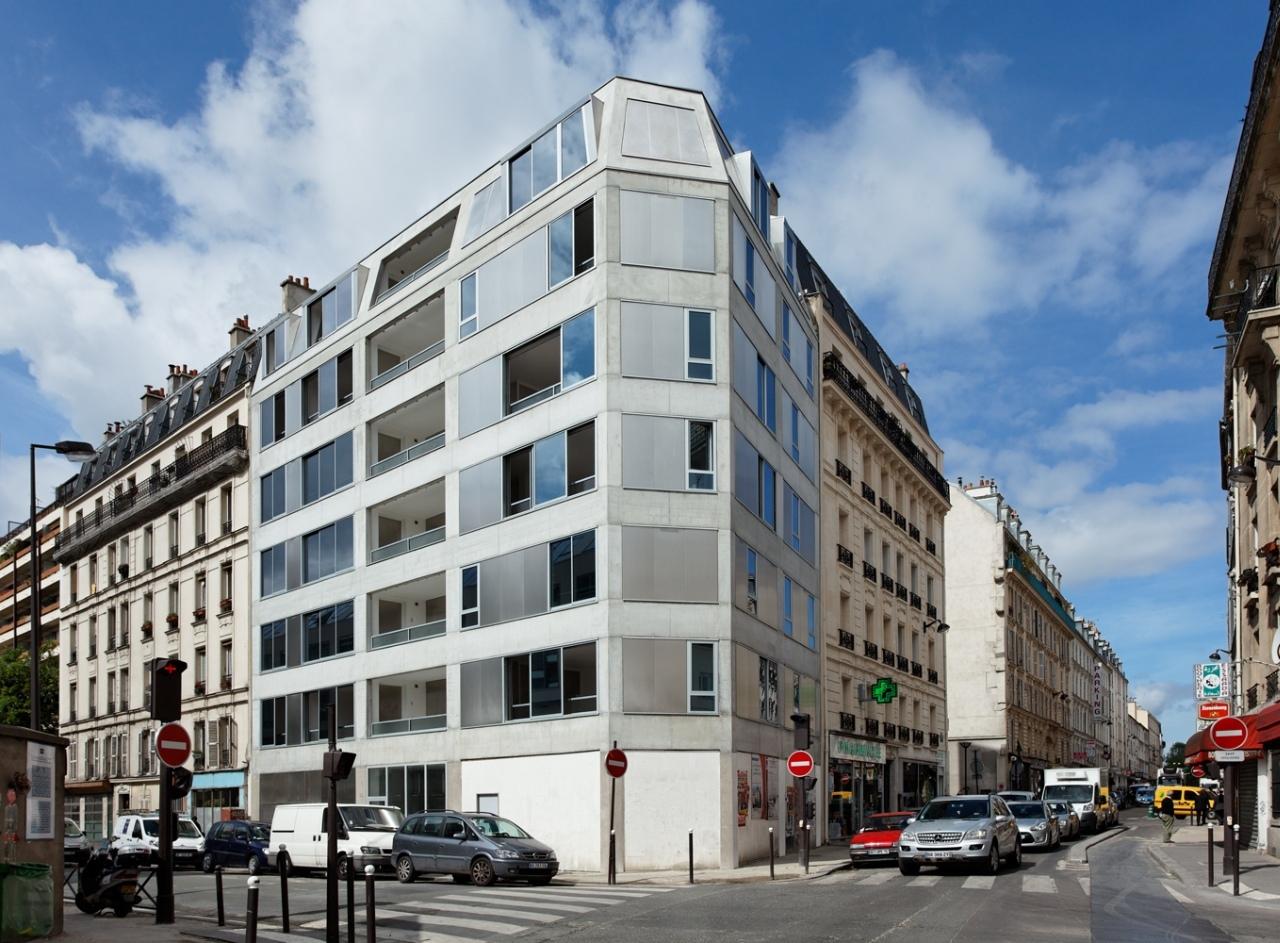 10 Habitações em Pajol / Bourbouze & Graindorge, © David Boureau