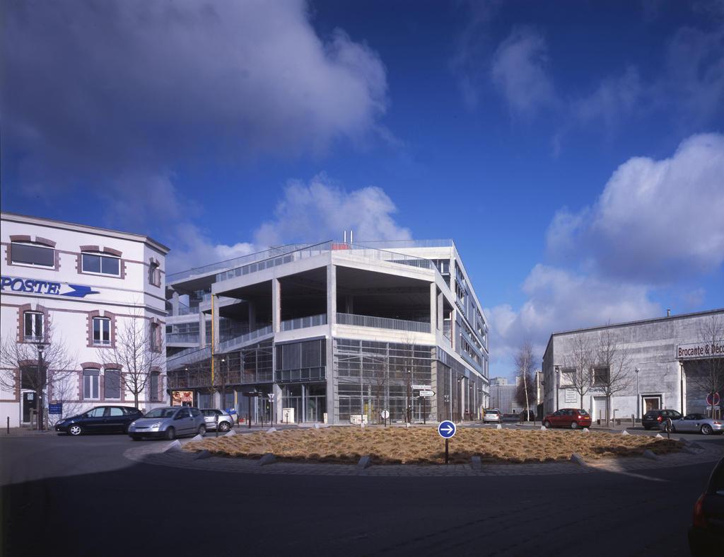 Escola de arquitetura de nantes lacaton vassal for Z architecture william vassal