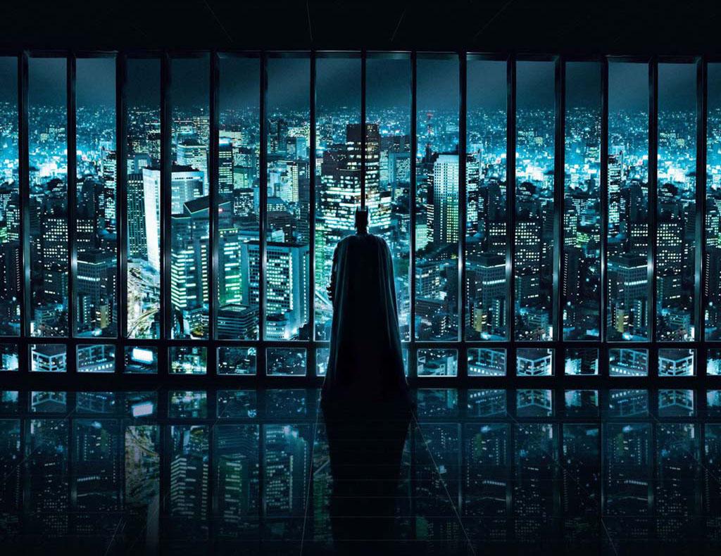 Batman & Arquitetura: O Cavaleiro das Trevas Ressurge, Skyline de Gotham