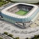 Imagem aérea - © Fernandes Arquitetos Associados