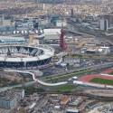 Estádio Olímpico, Londres / Populous © LOCOG Aerials