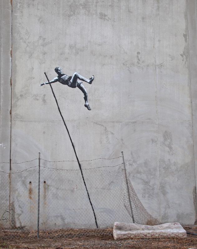Arte Urbana: A crítica de Bansky em Londres 2012, Bansky