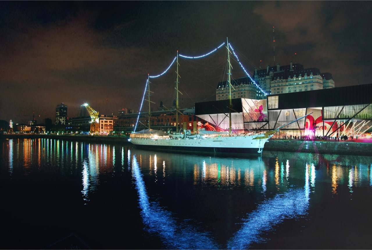 Resultado do Concurso [AC-CA] Museu de Arte Contemporânea em Buenos Aires, Primeiro Lugar:  Shelby Ponce e Eduardo Ponce