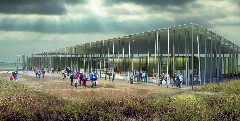 Começa a Construção do Novo Centro de Visitantes em Stonehenge, Cortesia de Denton Corker Marshall