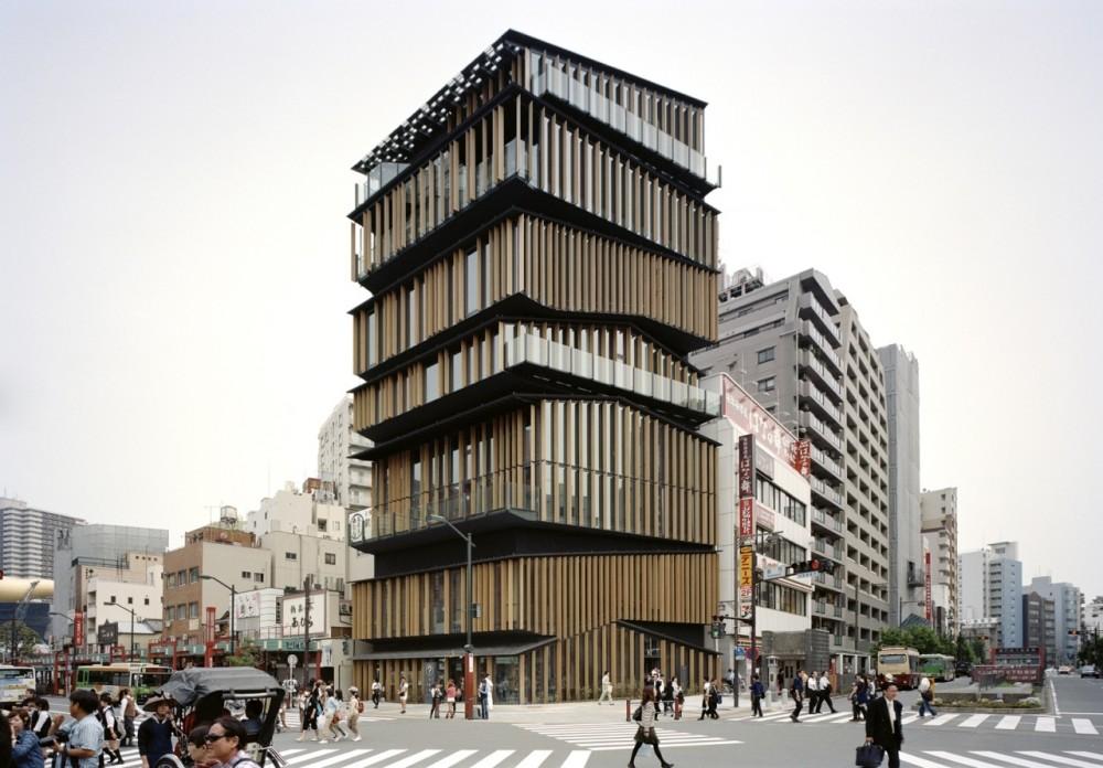 Video: Centro Cultural e de Turismo em Asakusa  / Kengo Kuma & Associates, © Takeshi Yamagishi