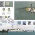 Finalista Impacto Ambiental: REGENERATE FORT CARROLL: A Gateway Ecological Park, Estados Unidos / Colin Curley + Sara Allen Harper