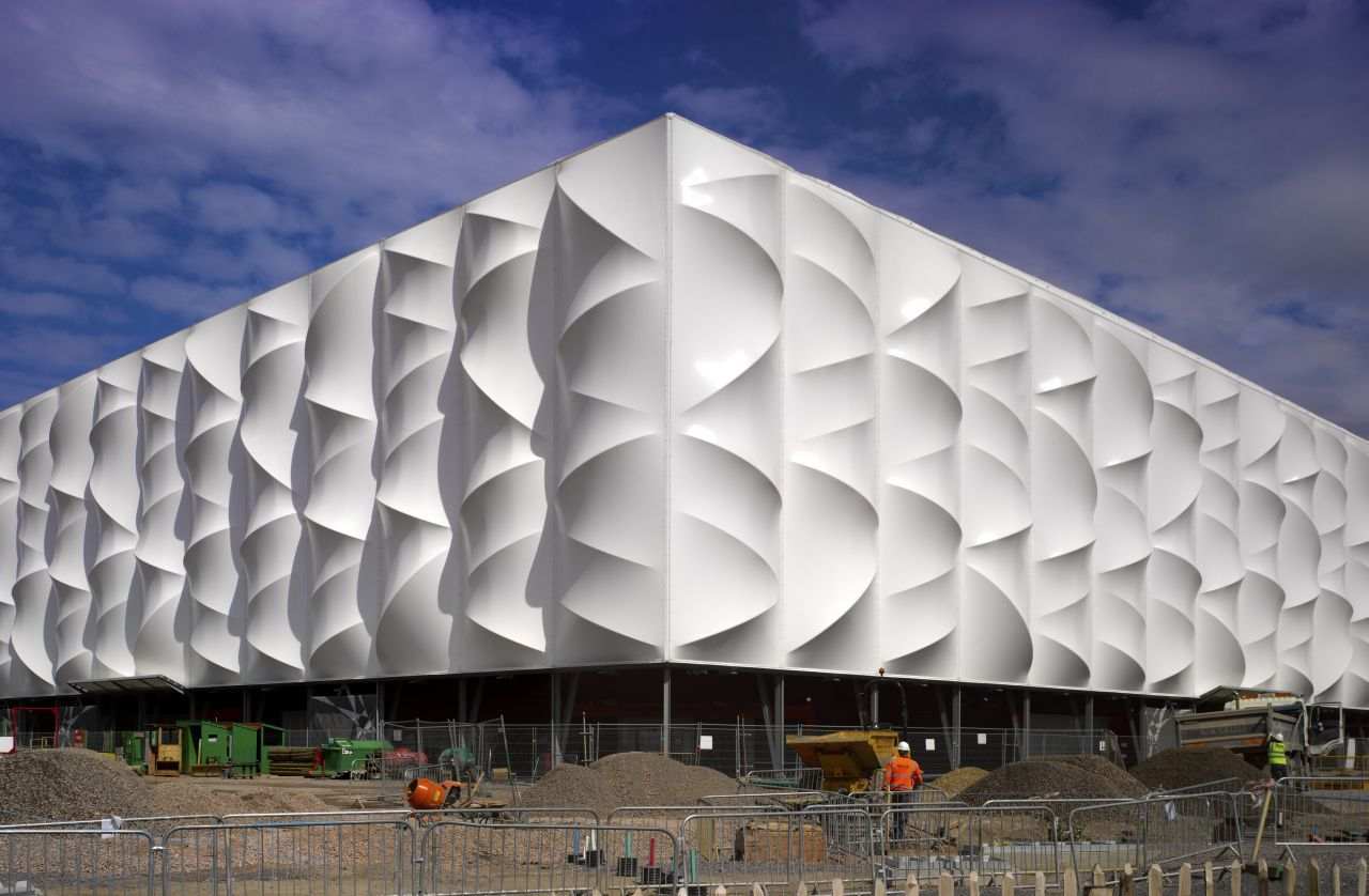 Basketball Arena de Londres 2012 / Wilkinson Eyre Architects , © Edmund Sumner