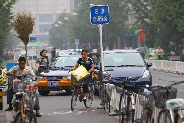 Uso da bicicleta em Pequim: os mesmos cidadãos ajudarão a melhorar a infraestrutura, Pequim
