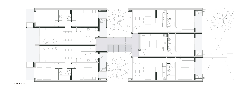 Galeria de edif cio em calle lavalle biagioni pecorari for Metros cuadrados de un piso normal