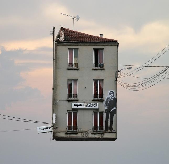 Arte e Arquitetura: Casas Voadoras por Laurent Chehere, © Laurent Chehere