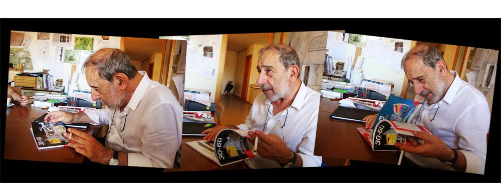 Entrevista a Álvaro Siza por Omar Paris, Álvaro Siza