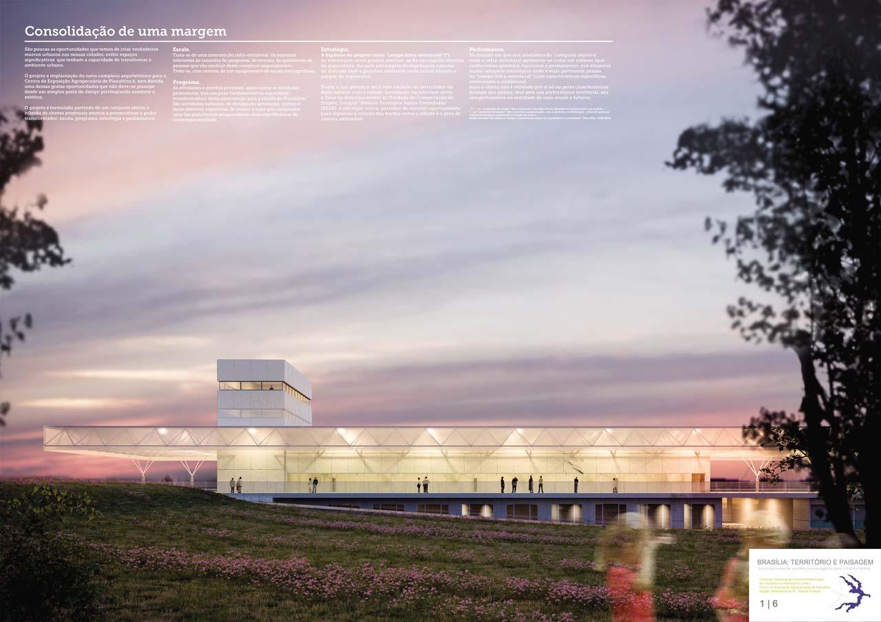 """Resultado - """"Brasília: Território e Paisagem"""" - Centro de Exposição Agropecuária de Planaltina – DF, 1º Lugar  - Centro de Exposição Agropecuária de Planaltina"""