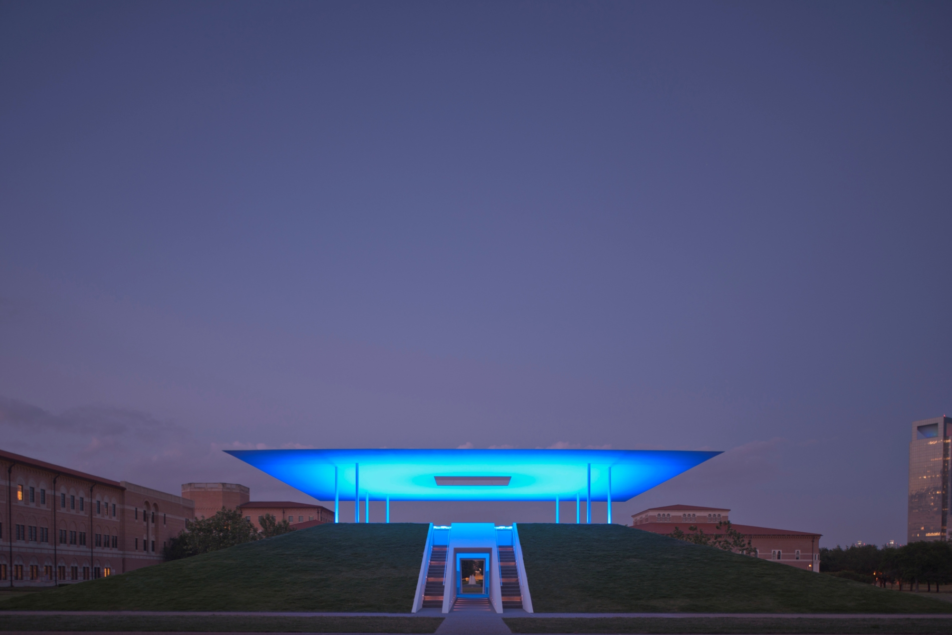 Epifania do Crepúsculo / James Turrell, © Inhabitat