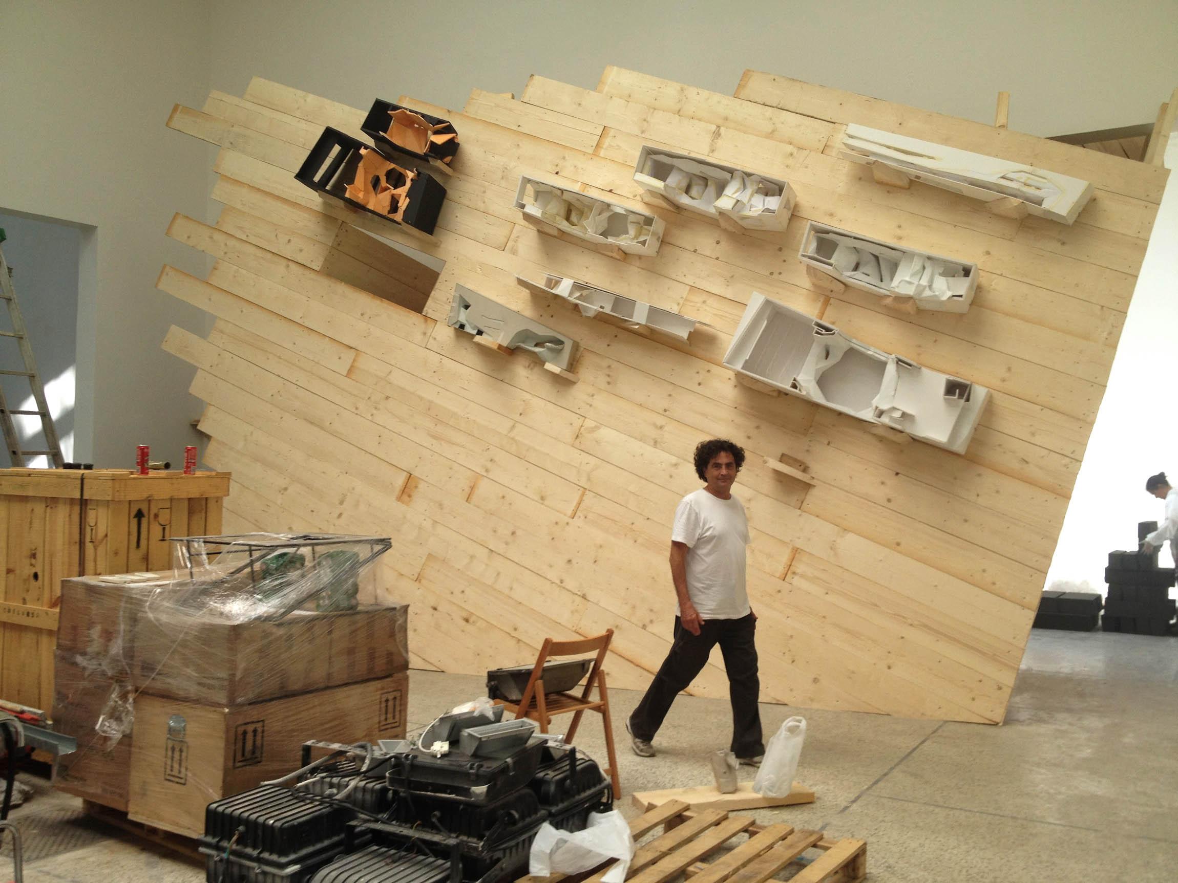 Bienal de Veneza 2012: INTO THE WALL / Menis Arquitectos, Cortesia de Menis Arquitectos