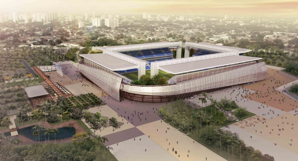 Estádios da Copa 2014: Arena Cuiabá / GCP Arquitetos, © Neorama / ALMA Estúdio