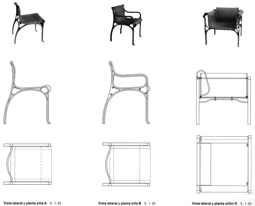 Galeria de mobili rio cl ssico cadeira vald s cristi n for Sillas para planos