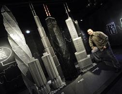 Mostra Arquitetura de LEGO®: Towering Ambition' / Estados Unidos, Cortesia de  Adam Reed Tucker