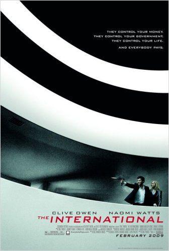 Cinema e Arquitetura: Trama Internacional, Cartaz