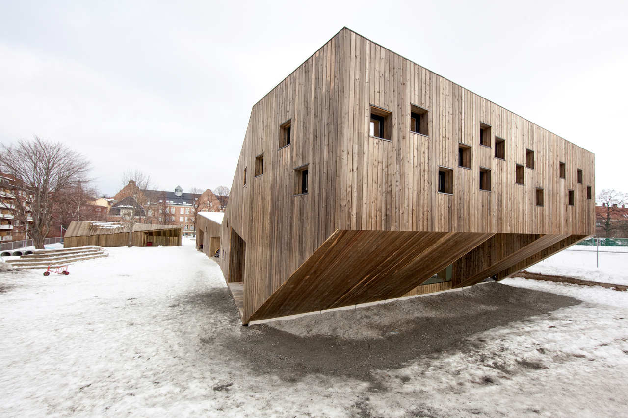 Fagerborg Kindergarden / Reiulf Ramstad Architects, © Thomas Bjørnflaten