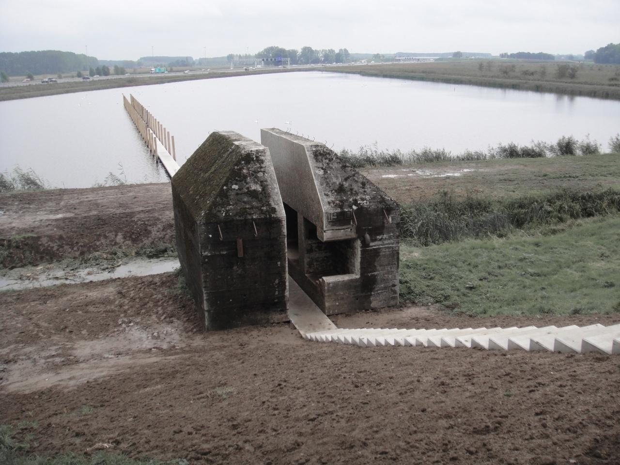 Bunker 599 / Rietveld Landscape + Atelier de Lyon , Cortesia de Rietveld Landscape