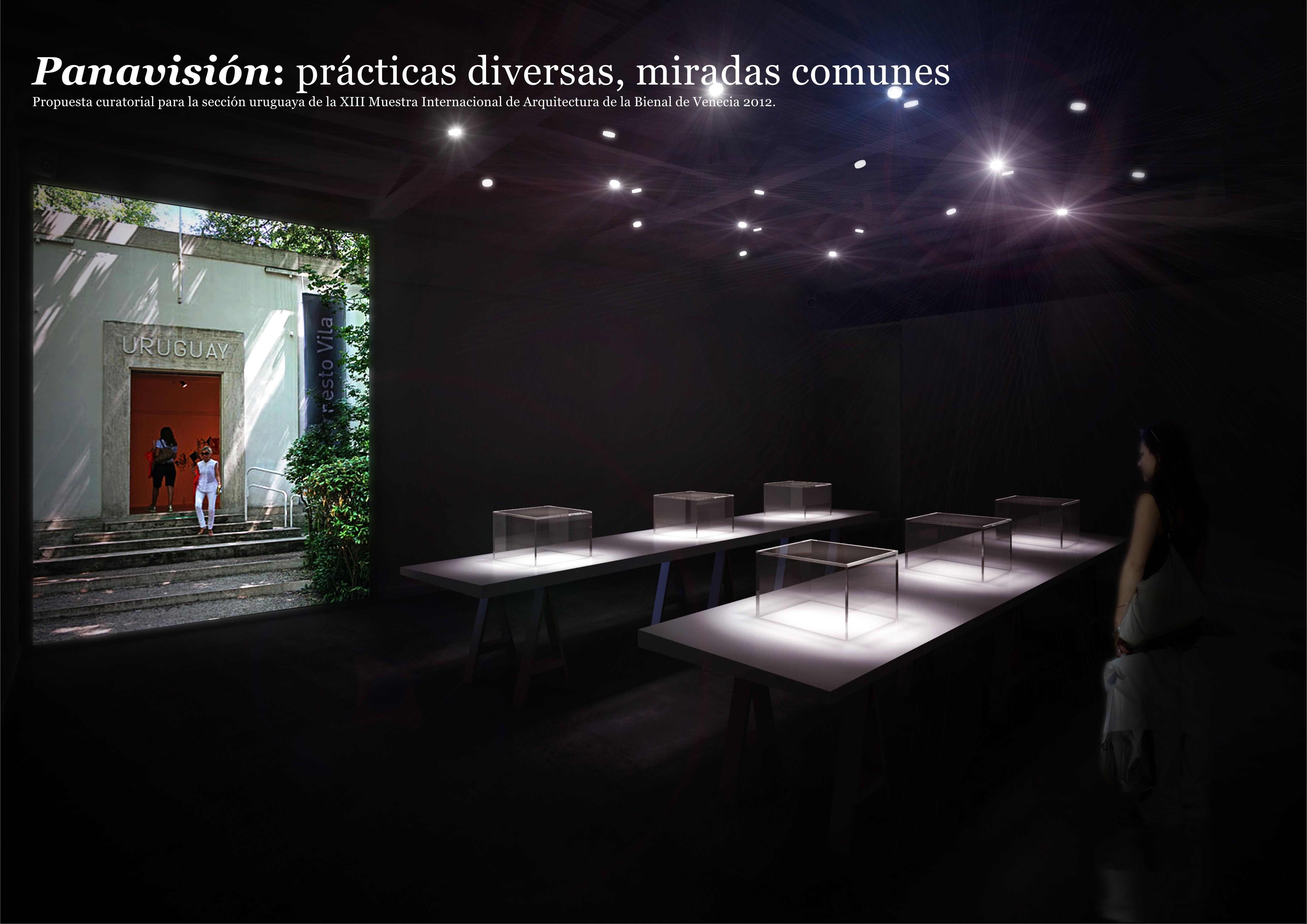 "Bienal de Veneza 2012: ""Panavision "" – Pavilhão do Uruguai, Cortesia de  vostokproject"