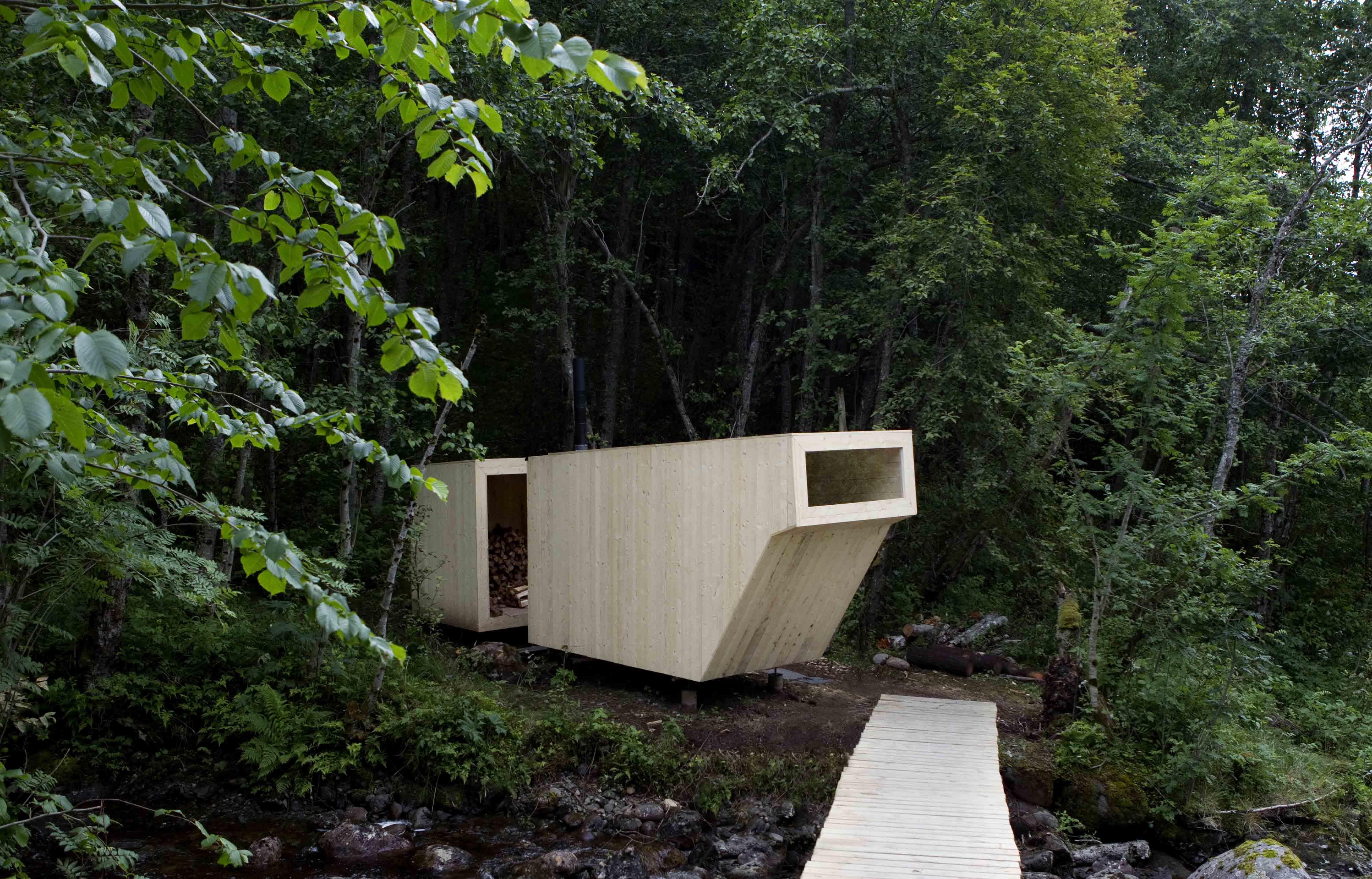 Sauna / Formløs Architecture, © Cortesia de  Formløs Architecture