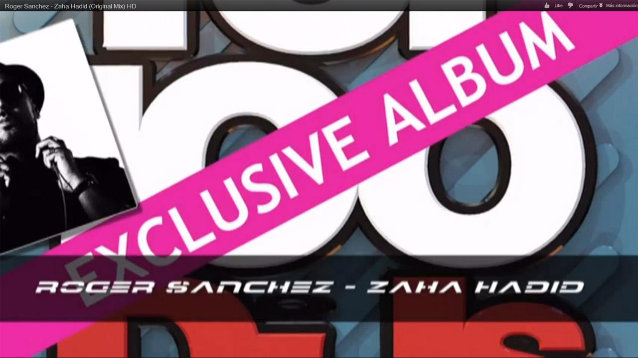 "Roger Sanchez desconstrói tech house com ""Zaha Hadid"", Roger Sanchez - ""Zaha Hadid"""