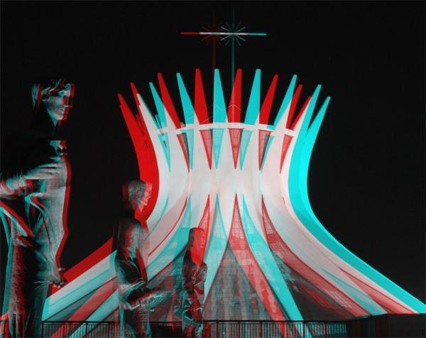 Oscar Niemeyer em 3D, Imagens via PA
