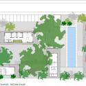 Implantação do complexo residencial