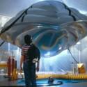 A nave espacial de Navigator, o filme da Disney, que foi uma das inspirações para o projeto de James Ramsey Low Line. Foto via AdventureAmigos.Net