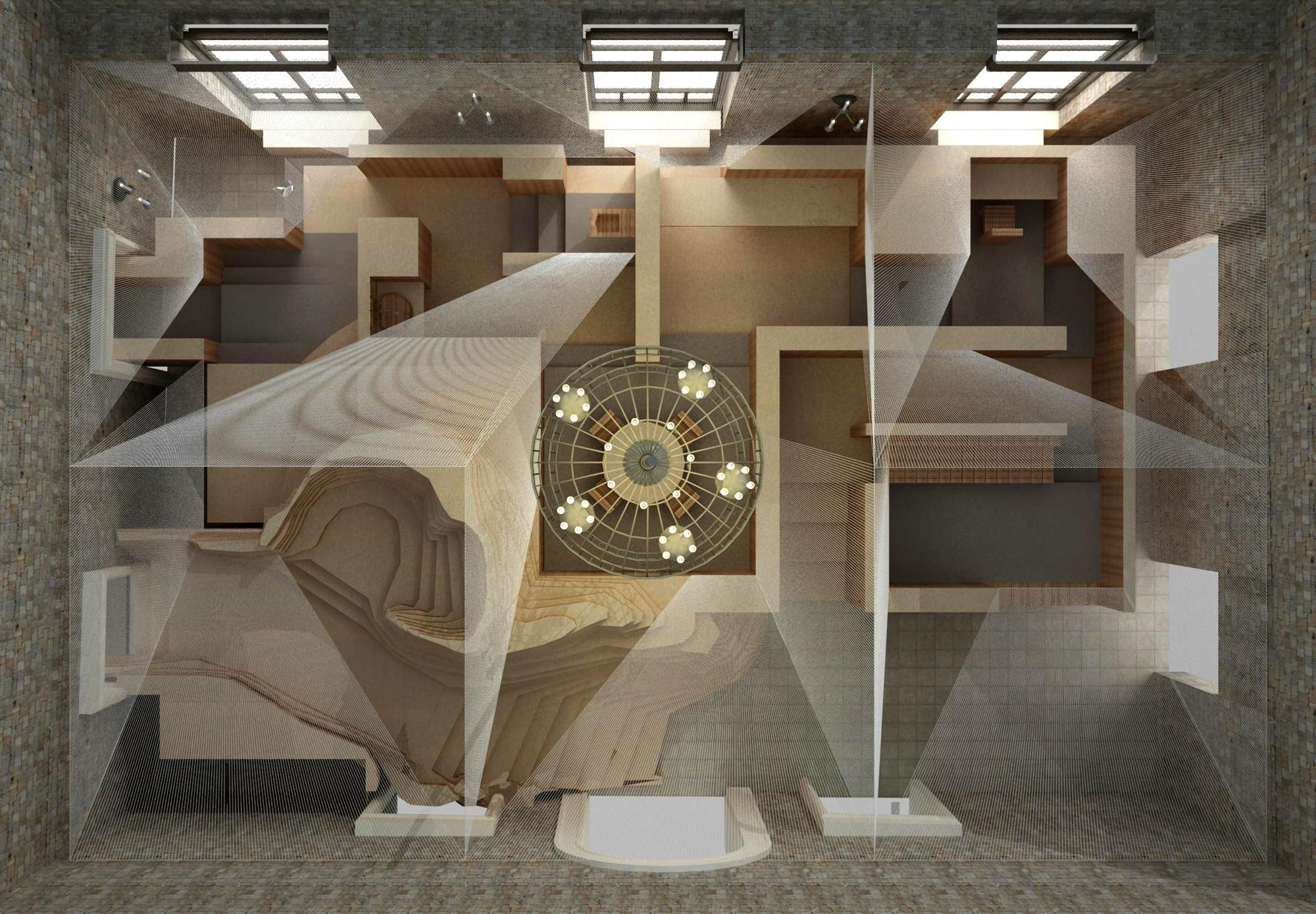 Bienal de Veneza  2012: Pavilhão de Taiwan, Cortesia do Museu Nacional de Taiwan de Belas Artes