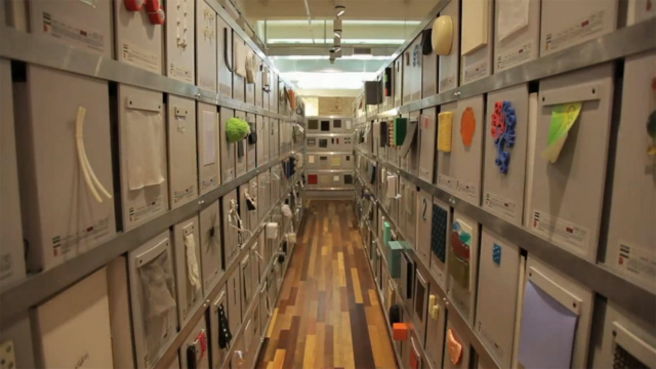 A Biblioteca de Materiais de Construção mais épica do mundo, Via The Economist