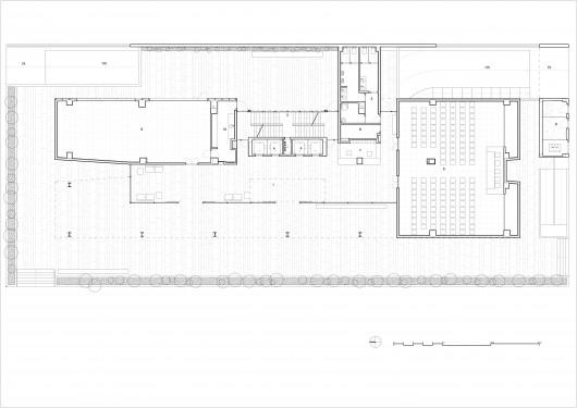 Centro de incubadoras de empresas trianera de for Empresas de arquitectura