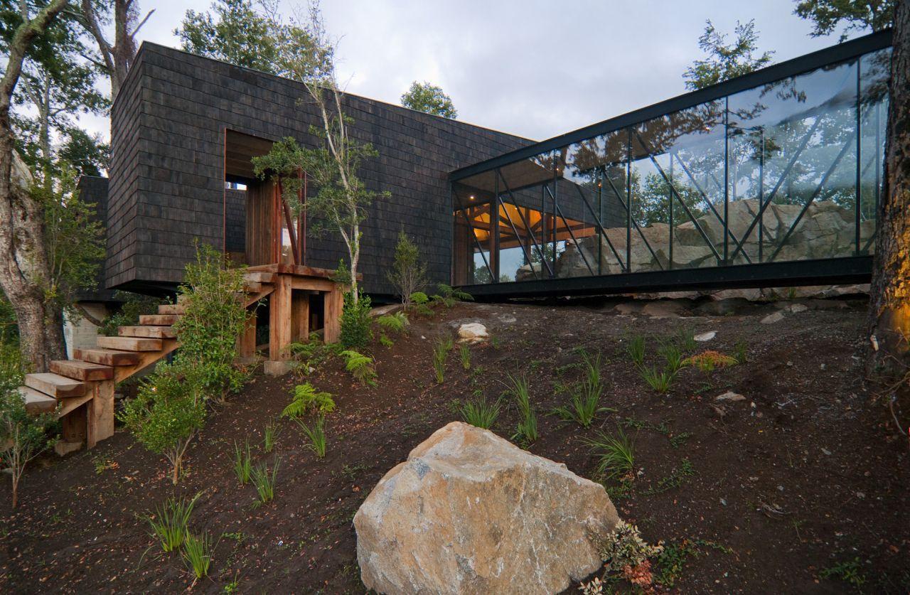 Residência Ranco / elton+léniz arquitectos asociados, © Marcos Mendizabal