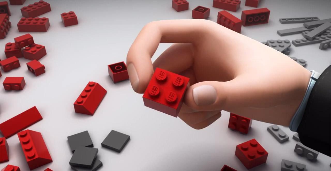 Vídeo: A História de Lego®, LEGO®