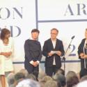 Toyo Ito, curador do Pavilhão do Japão, Vencedor do Leão de Ouro na Categoria Pavilhões Nacionais.