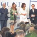 A comissão julgadora da Bienal: Kristin Feireiss, Benedetta Tagliabue, Wiel Arets e Alan Yentob (Robert Stern não estava presente).