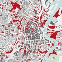 'Missing City Map', Belfast / Forum for Alternative Belfast – Cortesia do Conselho Britânico